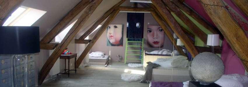 gite en bourgogne la ferme de chaouen les chambres. Black Bedroom Furniture Sets. Home Design Ideas