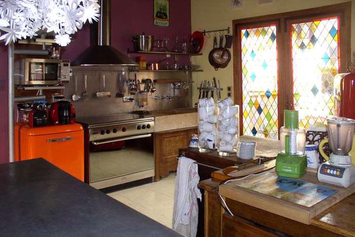 Gîte En Bourgogne La Ferme De Chaouen La Cuisine